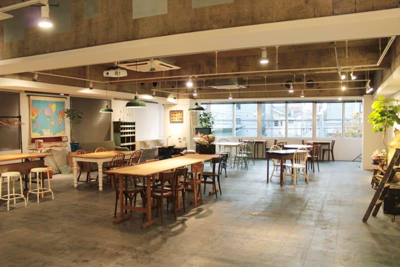 イベントスペース・レンタルカフェ - レンタルスペース  パズル浅草橋 カフェ・イベントスペース  の室内の写真