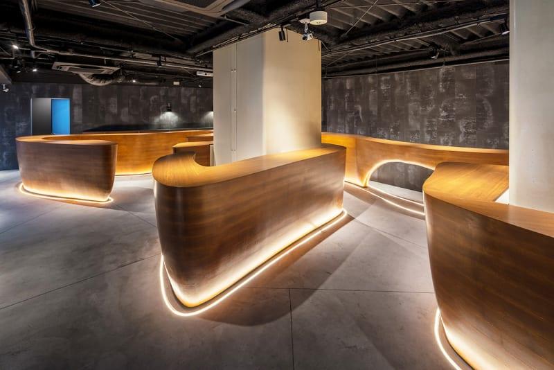 MURA BAR ワークスペースカフェ 1人席の室内の写真