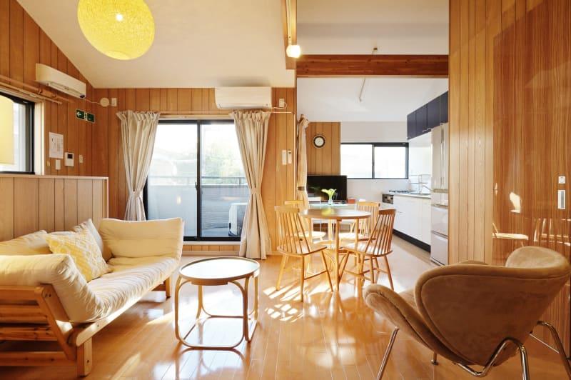 リビングエリア1 - 天下茶屋レジデンスイースト 貸切1戸建の室内の写真