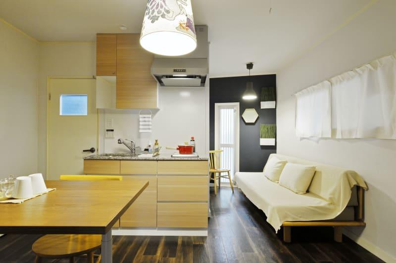 リビングエリア1 - 撮影や女子会にキッチン付き戸建 西中島コンフォートハウスの室内の写真