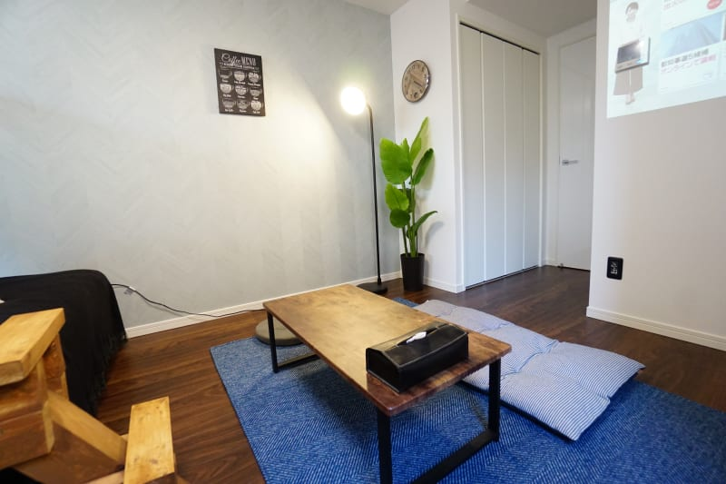 Asakusa Sky Stay テラハスペース(男子部屋)の室内の写真