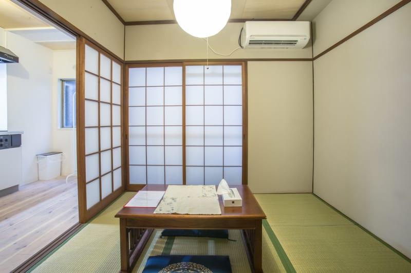 落ち着く和室のスペース - マルチレンタルハウスライフハウス マルチレンタルの室内の写真
