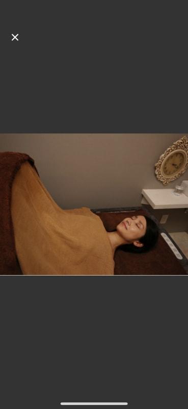 岩盤浴も別途利用可能 - LuLu サロンスペースの室内の写真