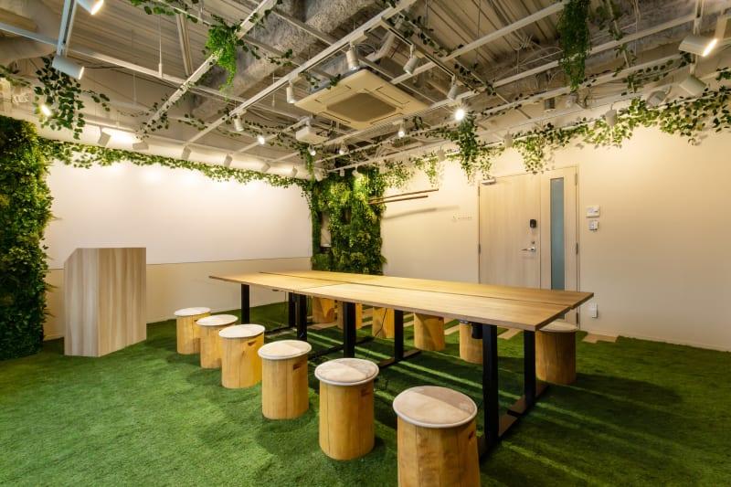 基本レイアウト - 【森の会議室】 森の会議室の室内の写真