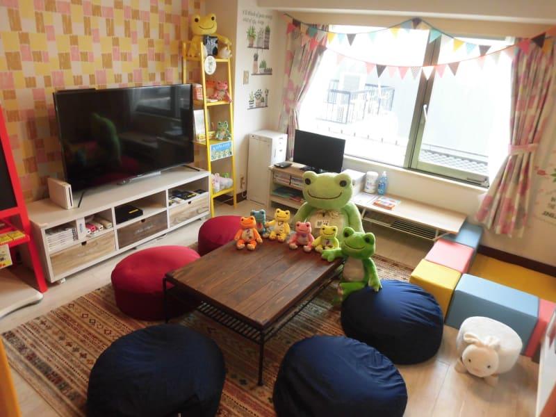 🦒Pickles Park🦒 子供が主役のパーティールームの室内の写真
