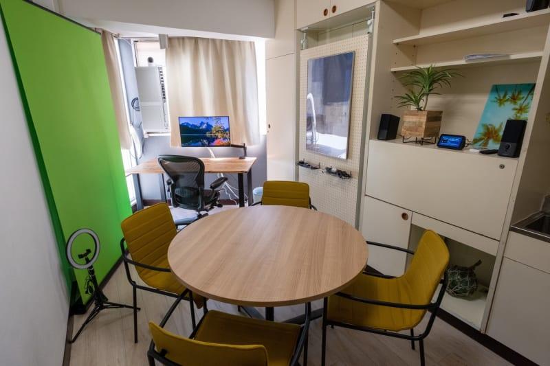 リモートワークスペースとミーティングスペースがあります - ⚡️リモートベース名駅⚡️の室内の写真