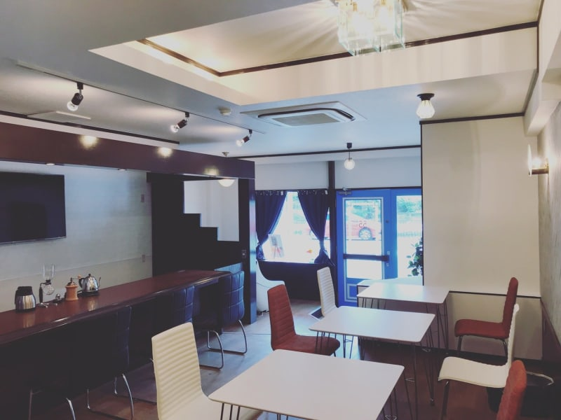 CoCo cafe 貸切イベントスペースの室内の写真