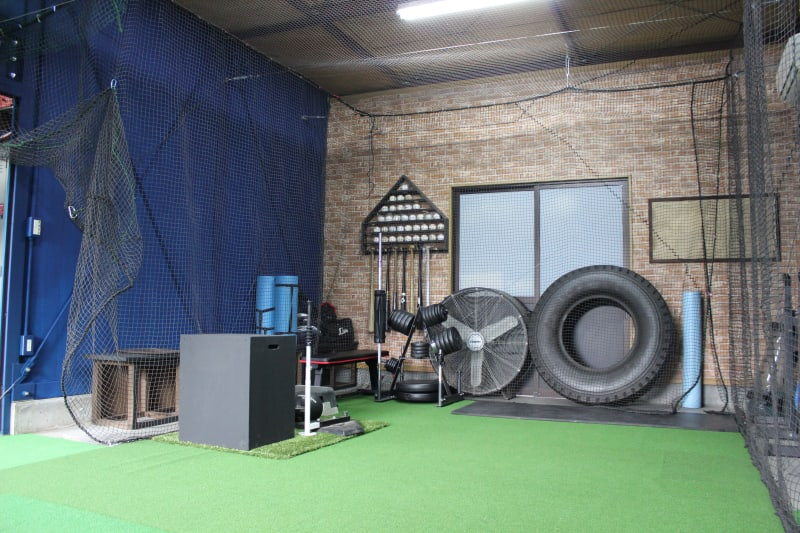 On Deck Circle トレーニングスペースの室内の写真