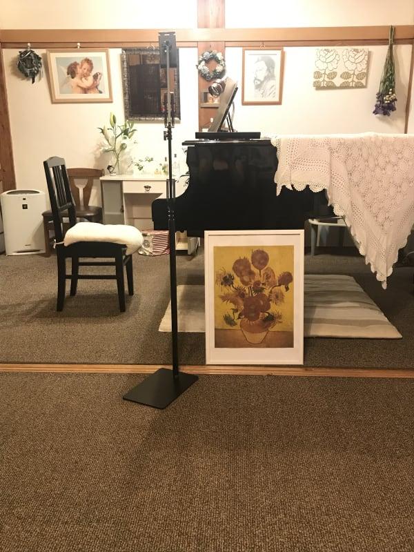 アマービレピアノ教室 レンタル練習室の室内の写真