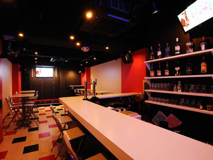 バーカウンター - アニソンBAR とらんぷ イベントスペース、フロア貸切の室内の写真