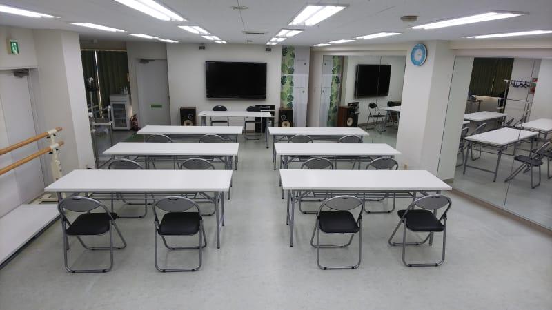 会議用に最適! - スタジオM  第1 JR稲毛駅前 貸し会議室の室内の写真