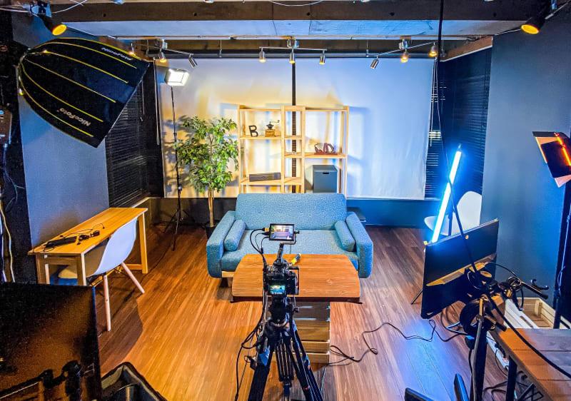 収録スペース - コンポジション 神山スタジオ 無人収録・配信スタジオの室内の写真