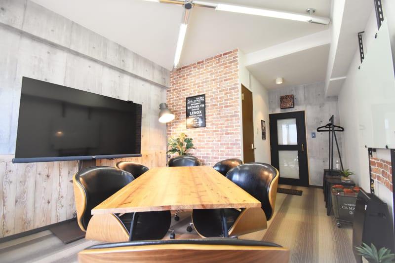 ブルックリンスタイルの快適空間で、アイデアふくらむオシャレな♪ミーティングスペース - 《ココ.ベース》 ココベース名駅 1003の室内の写真