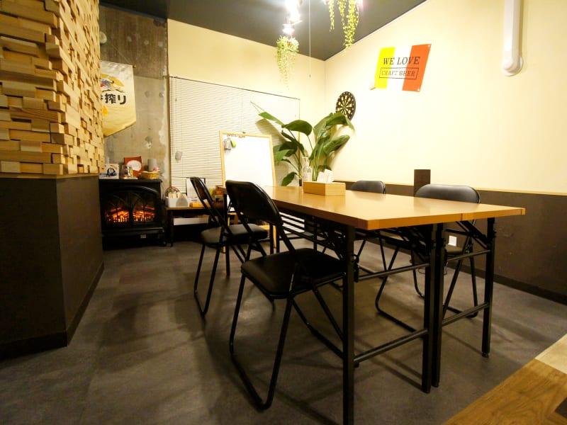 ■ラウンジを会議室仕様に■ - WeHome ■レンタル会議室■ビジネス限定■の室内の写真