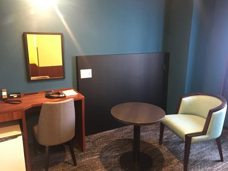ベッドを取り除いた客室スペース - ホテルウィング新橋御成門 テレワーク用客室の室内の写真