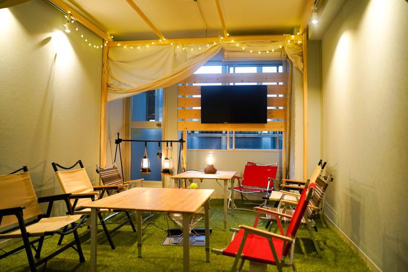 エフガーデン恵比寿南 駅近の個室多目的スペースの室内の写真