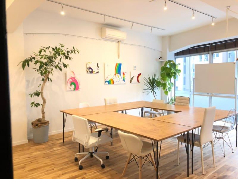 会議 - リノスぺ恵比寿 リノベーションスタジオの室内の写真