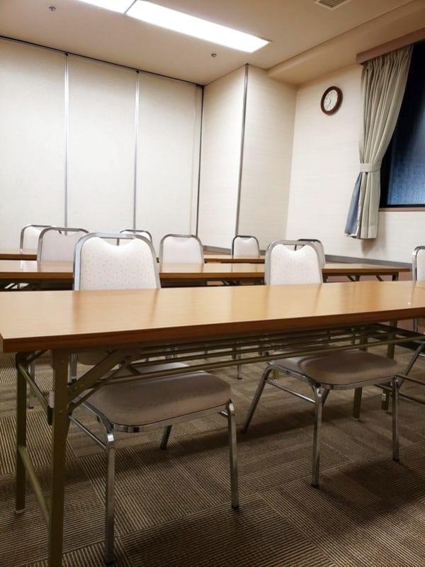 ホテルウィング名古屋 1階 会議室3の室内の写真