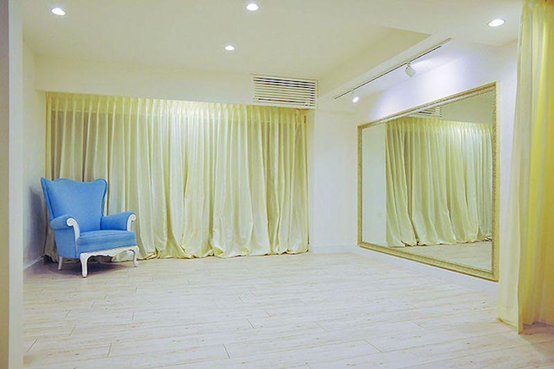赤羽橋レンタルスタジオ ヨガスタジオの室内の写真