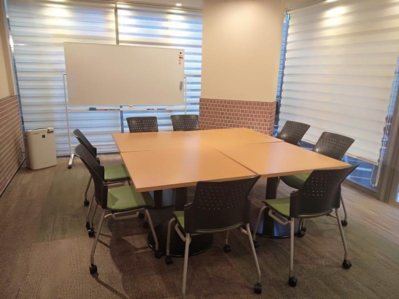 使用例①8名 - 恵比寿カルフール ギャラリールームの室内の写真