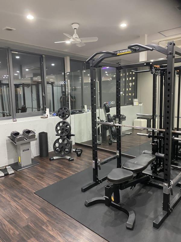 トレーニング機材 - ビオスさいたま新都心店 トレーニングルームの室内の写真