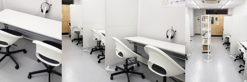 テーブル/座席 - OMO|オモ【三宮本通店】 【1席分】コワーキングスペース1の室内の写真