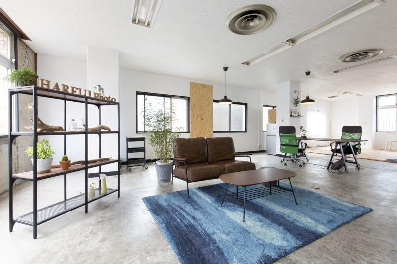 自然光の入る明るいスタジオ - ハレルフォト 会議室 ・多目的 ・撮影スタジオの室内の写真