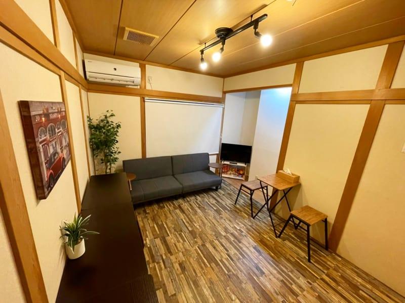 1F 団らんスペース - 【新今宮】SI06 タスワンスペースの室内の写真