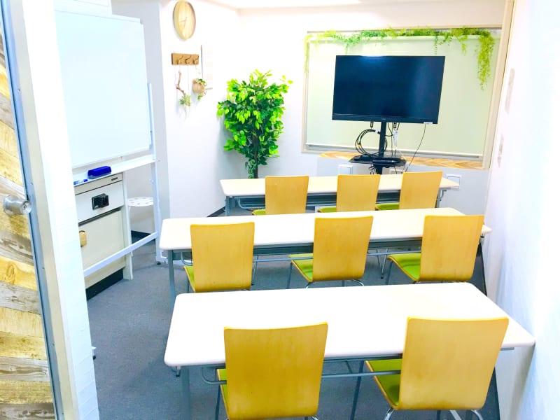 基本レイアウト - お気軽会議室 リバティ淀屋橋 梅田から1駅/オゾン除菌ありの室内の写真