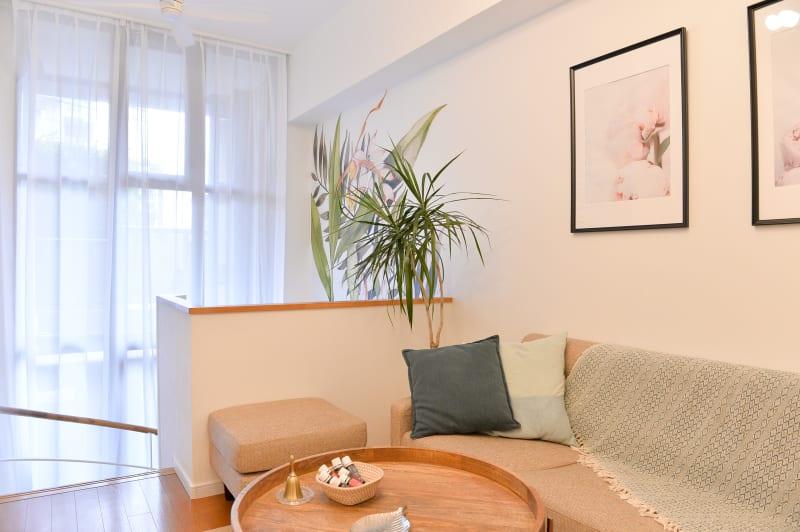 明るく広い待合いスペース - 楊梅桃李 / ようばいとうり レンタルサロン&スペースの室内の写真