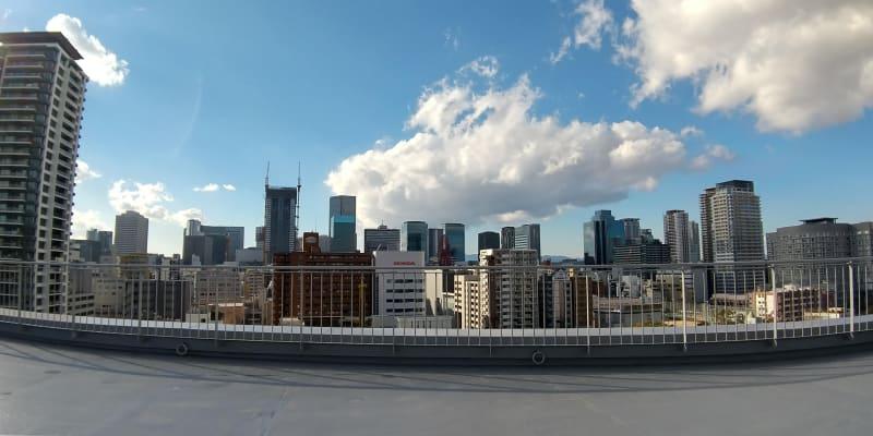 昼景 - 天しもビル 屋上レンタル撮影スタジオの室内の写真