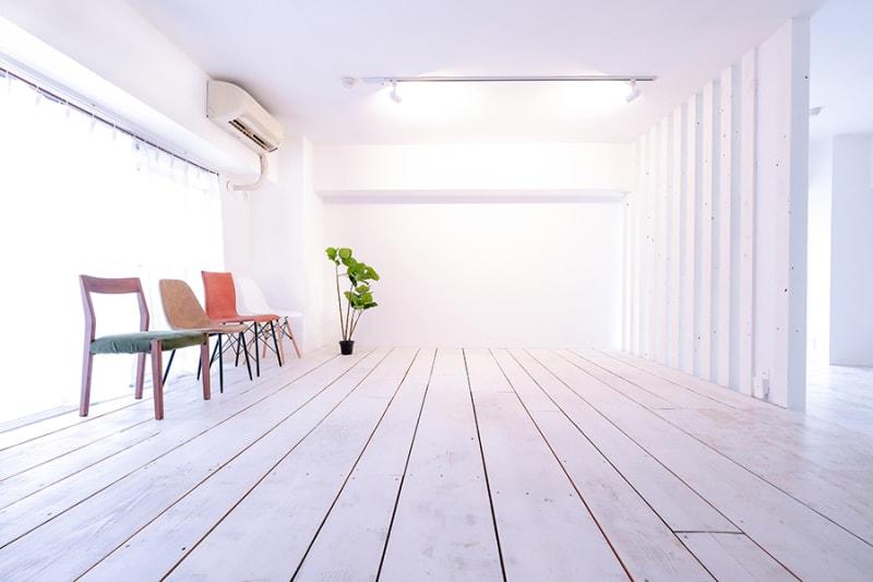 撮影しやすい白ベースの空間。 - C8 STUDIO 撮影スタジオ&レンタルスペースの室内の写真
