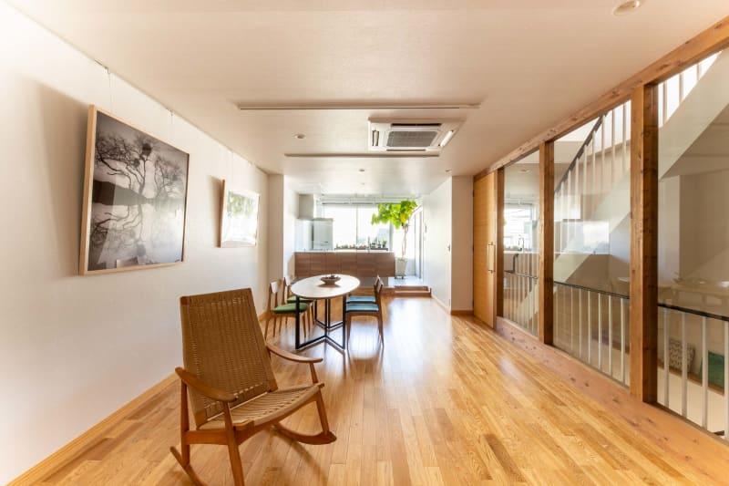 上質の家具を配置 - STUDIO AOTO スタジオBの室内の写真