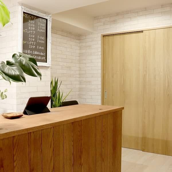マンションの一室を貸し切り - グッドラック マッサージスペースの室内の写真