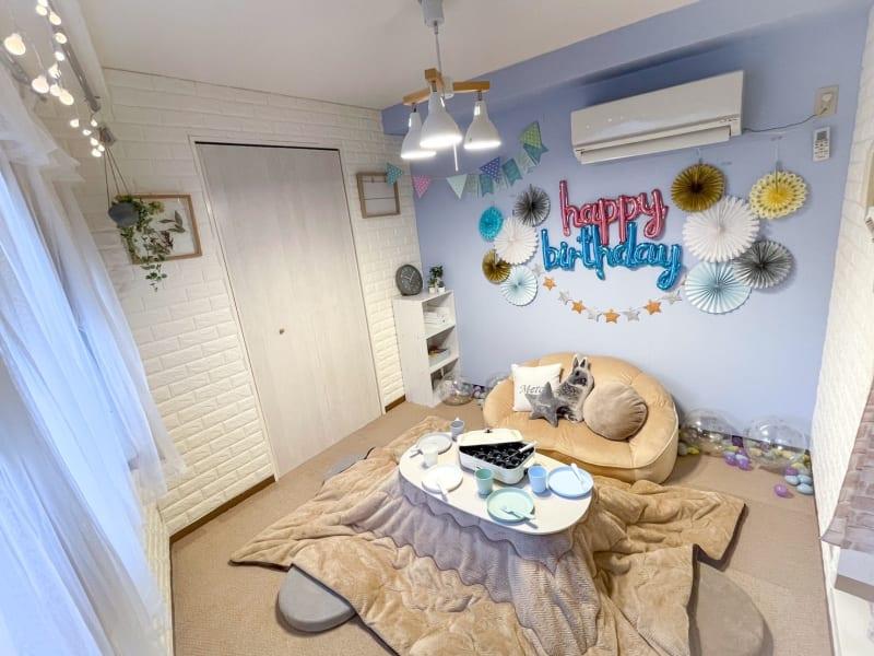 誕生日会・女子会・ママ会に最適なスペースです。3~4人での利用がおすすめです♪ - ピッコロ町田 多目的スペースの室内の写真