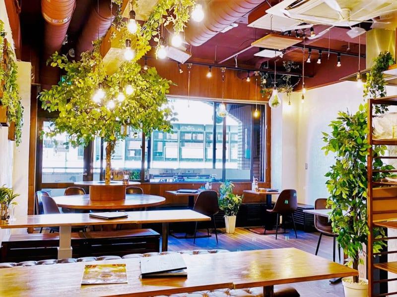 渋谷駅徒歩2分!道玄坂のビル7Fにあります。 - 道玄坂ガーデンスペースの室内の写真