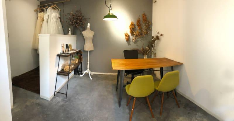 ビオトープ レンタルサロンの室内の写真