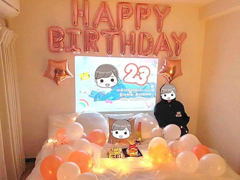 押し不在の誕生日会に最適 - NUMA部屋|梅田① 梅田 推し不在の誕生日会スペースの室内の写真