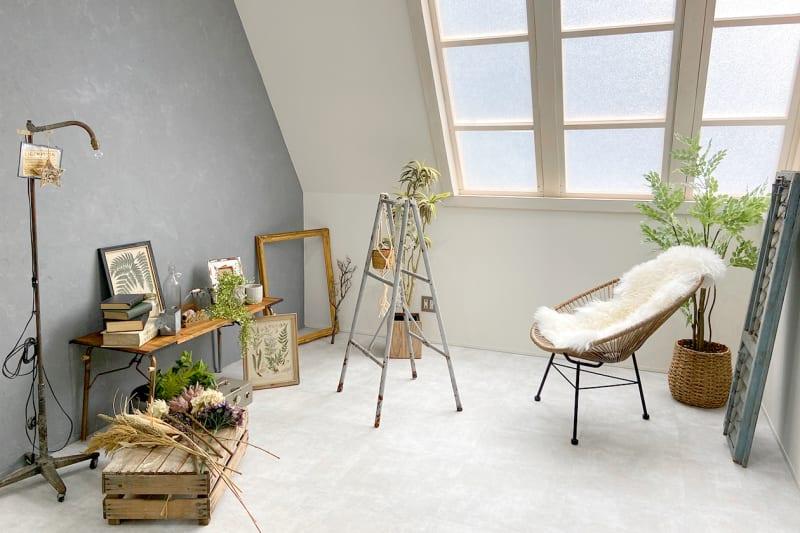 アルコイリススタジオ 自然光◎の撮影スタジオの室内の写真