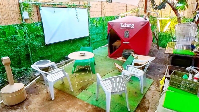 ドロンバ 1F BBQスペースの室内の写真