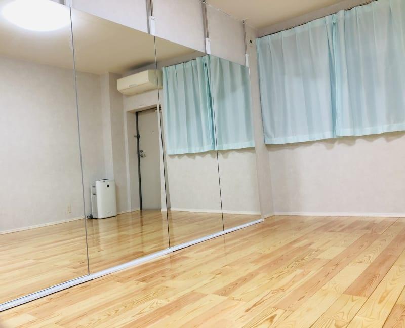 スタジオクインテット 蘇我駅前店 ダンス/ヨガ/フィットネス/練習の室内の写真
