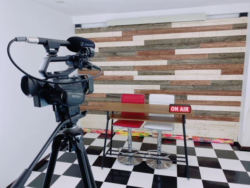 撮影スタジオ ※カメラは私物です - Star-Club 市ヶ谷 ENERGY STUDIOの室内の写真