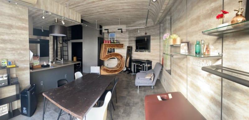 お使いいただくお部屋 - HMTRENTALSPACE. 多目的スペースの室内の写真