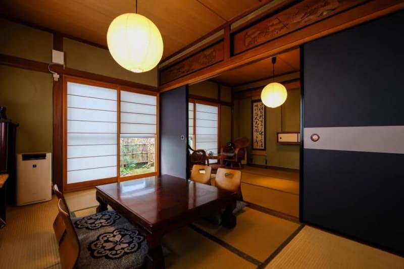 二間続きの和室 - yue 貸しスペースの室内の写真