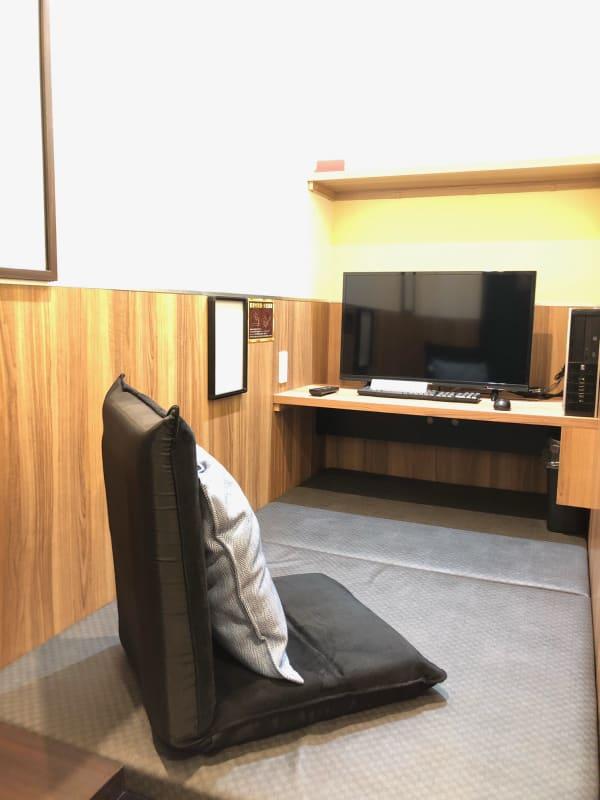 スタンダード 1名~2名様用 - 道玄坂NETROOM1.st 安心安全・鍵付完全個室の室内の写真