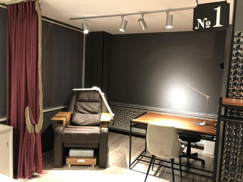 salon de SOL ブース1の室内の写真