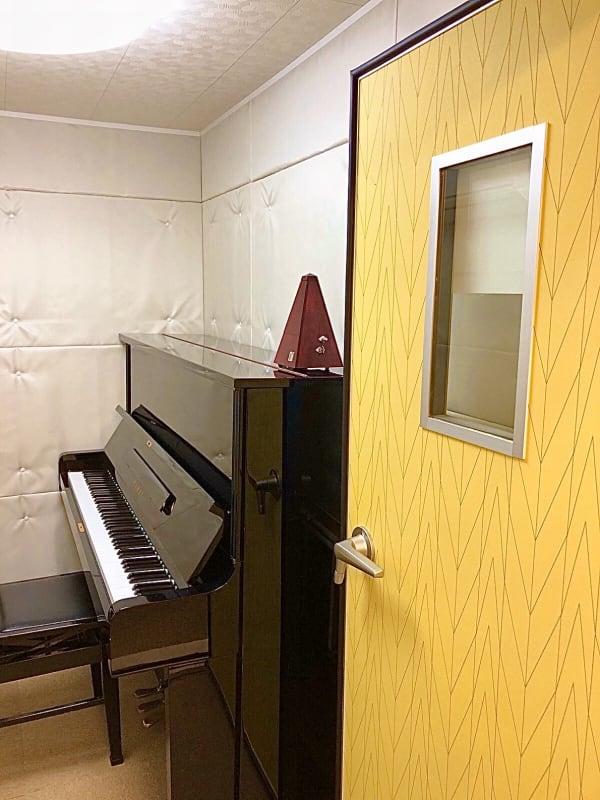 ブリアサロン用賀駅 南口徒歩1分 【即決】ピアノ防音室A(WIFIの室内の写真