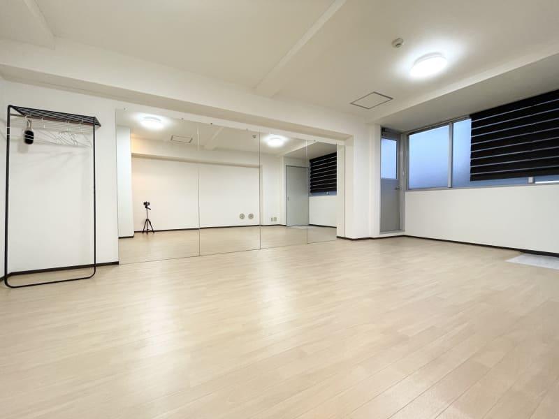 広島レンタルスタジオBuddy ダンスができるレンタルスタジオの室内の写真