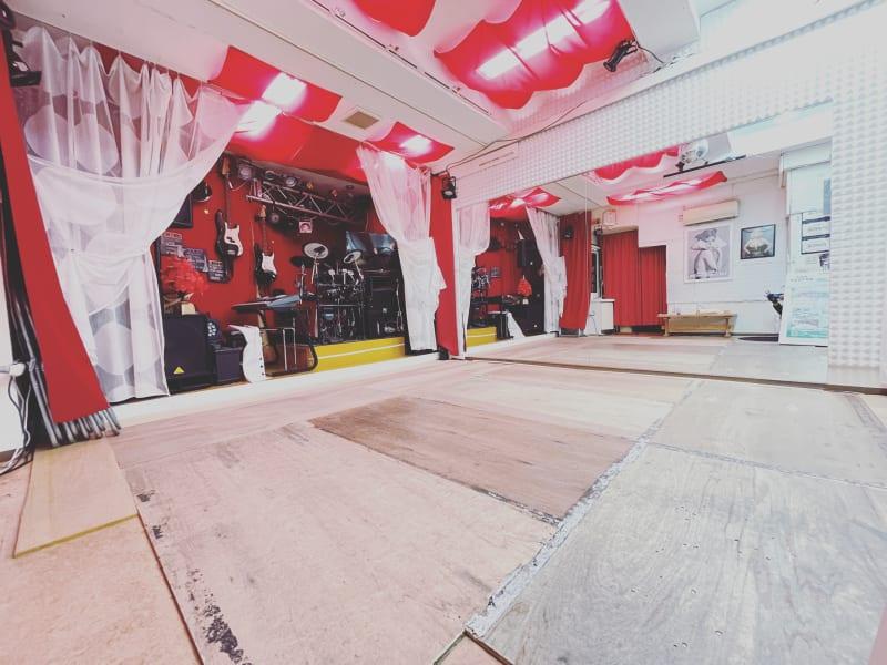 スタジオM  第2 京成稲毛駅前 ダンスレンタルスタジオBルームの室内の写真