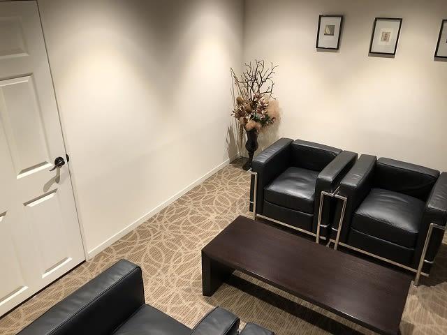 応接室 - アユアランリンク名古屋店 応接室の室内の写真